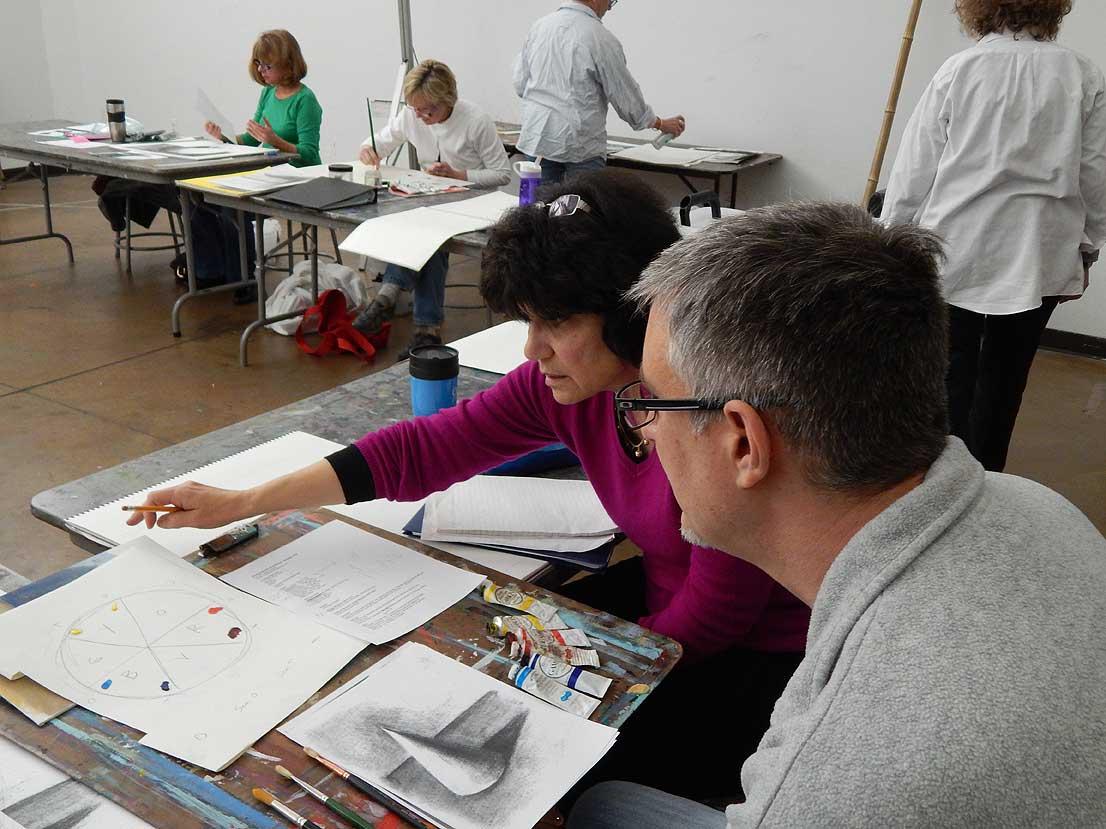 Winter/Spring Art Classes at MPA